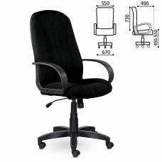 Кресло офисное BRABIX Classic EX-685, ткань С, черное, 532022