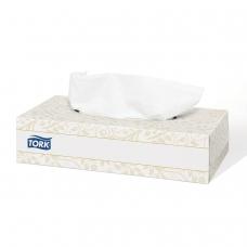 Салфетки косметические TORK Система F1 Premium, 2-слойные, КОМПЛЕКТ 100 шт., картонный бокс, белые, 120380