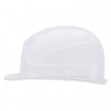 Каска защитная UVEX Супер босс, ленточный механизм регулировки, пластиковое оголовье, БЕЛАЯ, 9752020