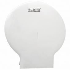 Диспенсер для туалетной бумаги LAIMA PROFESSIONAL ORIGINAL Система T1, БОЛЬШОЙ, белый, ABS-пластик, 605768