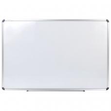Доска магнитно-маркерная 60х90 см, алюминиевая рамка, STAFF, 235462