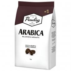 Кофе в зернах PAULIG Паулиг 'Arabica', натуральный, 1000 г, вакуумная упаковка, 16282/16316