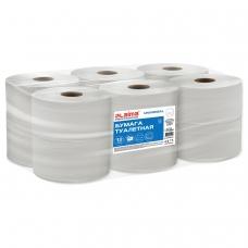 Бумага туалетная 200м, LAIMA T2, UNIVERSAL, 1-сл, цвет натуральный, КОМПЛЕКТ 12рул, 111334