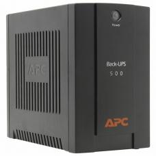 Источник бесперебойного питания APC Back-UPS BX500CI, 500VA300W, 3 розетки IEC 320, черный