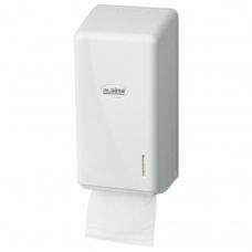 Диспенсер для туалетной бумаги листовой LAIMA PROFESSIONAL ORIGINAL Система T3, белый, ABS-пластик, 605770