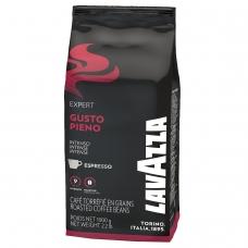 Кофе в зернах LAVAZZA Лавацца Gusto Pieno Expert, натуральный, 1000 г, вакуумная упаковка, 4338