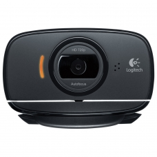 Веб-камера LOGITECH HD WebCam B525, USB, чёрная, 960-000842
