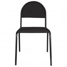 Стул для посетителей 'Серна', черный каркас, ткань черная, СМ 7/22 Т-11