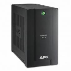 Источник бесперебойного питания APC Back-UPS BC750-RS, 750VA415W, 4 розетки CEE 7, черный