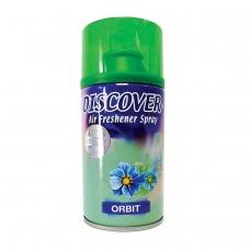 Сменный баллон 320 мл, DISCOVER 'Orbit', свежий зеленый аромат, для диспенсеров DISCOVER