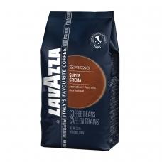 Кофе в зернах LAVAZZA Лавацца Espresso Super Crema, натуральный, 1000 г, вакуумная упаковка, 4202