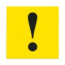Знак автомобильный 'Начинающий водитель', квадрат 150х150 мм, самоклейка, европодвес, ННВ