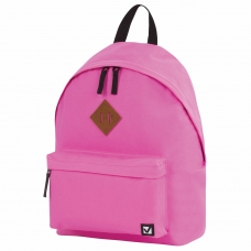 Рюкзак BRAUBERG, универсальный, сити-формат, один тон, персик, 20 литров, 41х32х14 см, 228844
