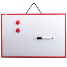 Доска магнитно-маркерная 30х45 см, ПИФАГОР, 231719