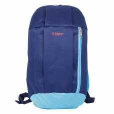 Рюкзак STAFF 'Air', универсальный, сине-голубой, 40х23х16 см, 226375