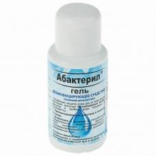 Средство дезинфицирующее кожный антисептик 50 мл АБАКТЕРИЛ-ГЕЛЬ, крышка флип-топ, ГАА-004