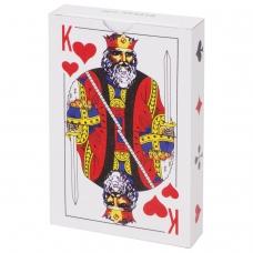 Карты игральные, 54 карты, с пластиковым покрытием, 454216