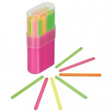 Счетные палочки СТАММ 30 штук многоцветные, в пластиковом пенале, СП06