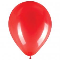 Шары воздушные ЗОЛОТАЯ СКАЗКА, 10' 25 см, КОМПЛЕКТ 50 штук, красные, пакет
