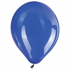 Шары воздушные ЗОЛОТАЯ СКАЗКА, 10' 25 см, КОМПЛЕКТ 50 штук, синие, пакет
