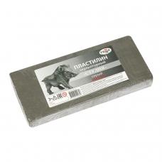 Пластилин скульптурный ГАММА 'Студия', серый, 1 кг, мягкий, 2.80.Е100.004.2
