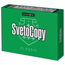 Бумага офисная А4, класс 'C', SVETOCOPY CLASSIC, 80 г/м2, 500 л., International Paper, белизна 146% CIE