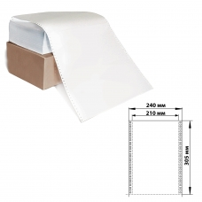 Бумага с отрывной перфорацией, 240х30512'х2000 1600 л., плотность 65 г/м2, белизна 98%, STARLESS