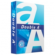 Бумага офисная А4, класс 'А+', DOUBLE A, эвкалипт, 80 г/м2, 500 л., белизна 163% CIE