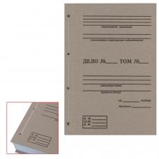 Крышки переплетные картонные А4, 305х220 мм, с печатью Дело ф. 21, КОМПЛЕКТ 100 шт.
