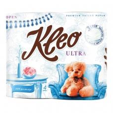 Бумага туалетная 3-х слойная KLEO Ultra, спайка 4 шт. х 20 м, C86