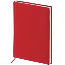Ежедневник BRAUBERG полудатированный, А5, 138х213 мм, 'New York', под гладкую кожу, 192 л., бордовый, 125954