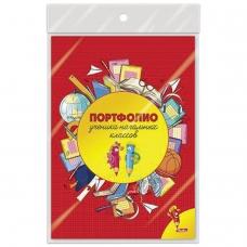 Листы-вкладыши для портфолио школьника, 16 листов, Веселые карандаши, HATBER, 16Пу4_12645, N165973