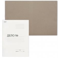 Папка Дело картонная без скоросшивателя STAFF, гарантированная плотность 220 г/м2, до 200 листов, 128 988