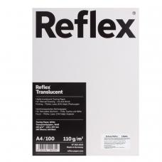 Калька REFLEX А4, 110 г/м, 100 листов, белая, R17120