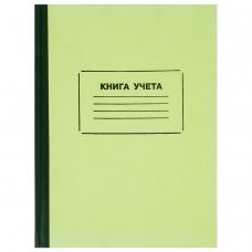 Книга учета 120 л., А4 205*287 мм STAFF, клетка, твердая обложка из картона, нумерация страниц, блок офсет, 130062