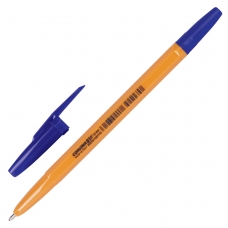 Ручка шариковая CORVINA 51 Vintage, СИНЯЯ, корпус оранжевый, узел 1 мм, линия письма 0,7 мм, 40163/02