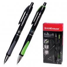 Ручка шариковая автоматическая ERICH KRAUSE Megapolis Concept, ЧЕРНАЯ, корпус черный, узел 0,7 мм, линия письма 0,35 мм, 32