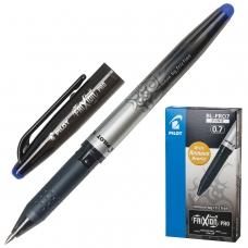 Ручка стираемая гелевая с грипом PILOT 'Frixion Pro', СИНЯЯ, корпус с печатью, узел 0,7 мм, линия письма 0,35 мм, BL-FRO-7