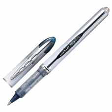 Ручка-роллер UNI-BALL Япония 'Vision Elite', СИНЯЯ, узел 0,8 мм, линия письма 0,6 мм, UB-20008BLUE