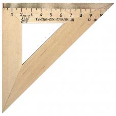 Треугольник деревянный, угол 45, 11 см, УЧД, С138