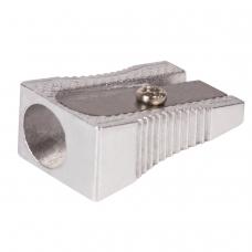 Точилка BRAUBERG 'Style', металлическая клиновидная, в картонной коробке, 222484