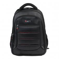 Рюкзак BRAUBERG 'Flagman', 35 л, размер 46х35х25 см, 35 л, ткань, черно-красный, 224454