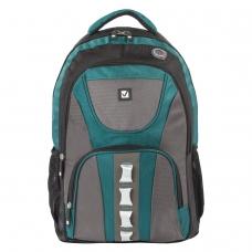 Рюкзак BRAUBERG для старшеклассников/студентов/молодежи, 'Арктика', 30 литров, 46х34х15 см, 224735