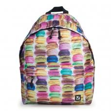 Рюкзак BRAUBERG, универсальный, сити-формат, разноцветный, 'Сладости', 20 литров, 41х32х14 см, 225370