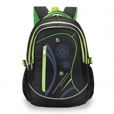 Рюкзак BRAUBERG для старших классов/студентов/молодежи, Неон, 30 литров, 46х34х18 см, 225520