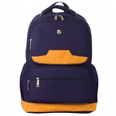 Рюкзак BRAUBERG для старшеклассников/студентов/молодежи, Бронкс, 27 литров, 46х31х14 см, 226349