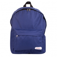 Рюкзак STAFF 'Стрит', темно-синий, 15 литров, 38х28х12 см, 226371
