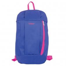 Рюкзак STAFF 'Air', универсальный, сине-розовый, 40х23х16 см, 226374
