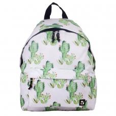 Рюкзак BRAUBERG универсальный, сити-формат, белый, 'Мексика', 20 литров, 41х32х14 см, 226416