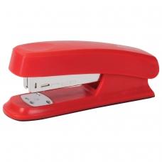 Степлер №24/6, 26/6 BRAUBERG Option, до 25 листов, красный, 226854